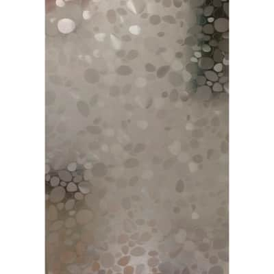 Tenda doccia Cristal in vinile trasparente L 180 x H 200 cm