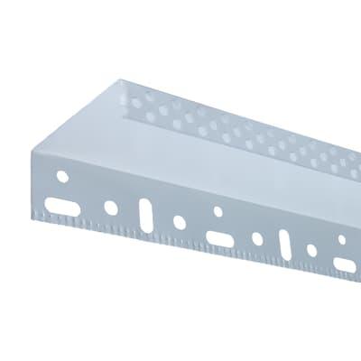 Profilo in metallo e pvc 2500 x 40 x 60 mm, 10 pezzi