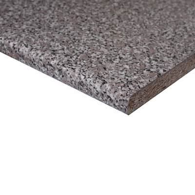 Piano cucina granito baveno L 304 x H 60 cm, spessore 2.8 cm