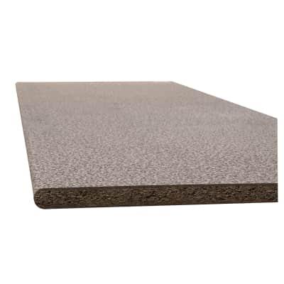 Piano di lavoro granito baveno L 208 x H 60 cm, spessore 2.8 cm
