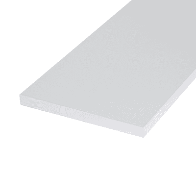 Ripiano melaminico ARTENS 120 x 40 cm Sp 18 mm , bianco