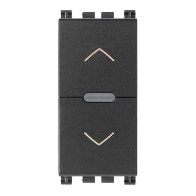 Interruttore Arke smart VIMAR grigio / argento