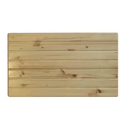 Asse per lavaggio Tablette Edge legno 43 x 1.8 x 49 cm beige