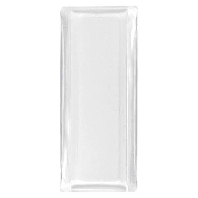 Vetromattone bianco lucido H 19 x L 8 x Sp 1.4 cm 10 pezzi
