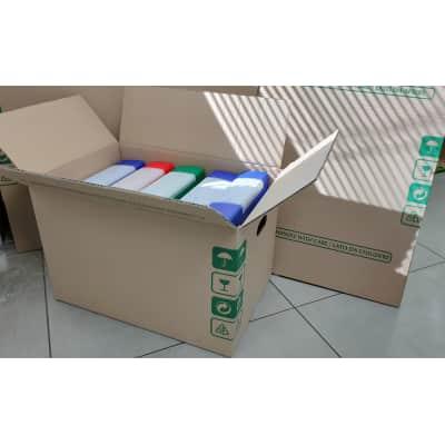Scatola da imballaggio 2 onde L 50 x H 33 x P 34 cm
