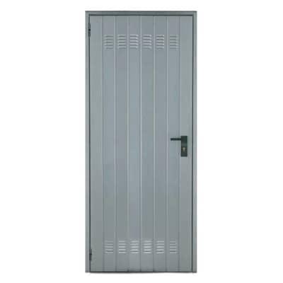 Porta per cantina lamiera L 82 x H 200 cm