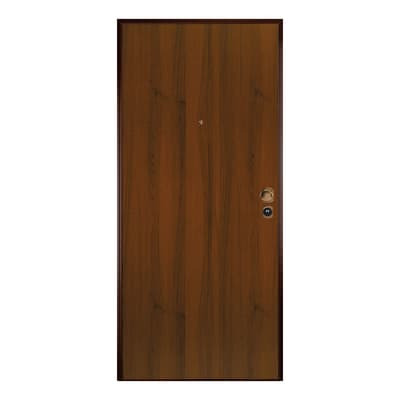 Porta blindata Level 3 noce L 90 x H 210 cm destra