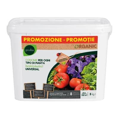 Concime granulare GEOLIA Organic 5 Kg