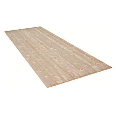 Tavola legno lamellare abete 100 x 30 cm Sp 10 mm