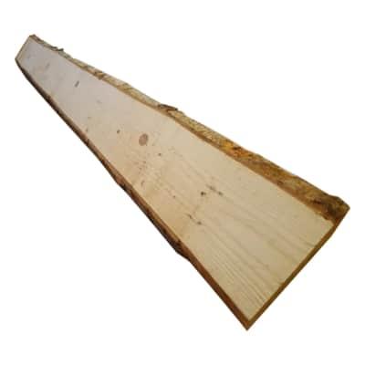 Tavola rettangolare grezzo 2000 x 200/250 x 17 mm