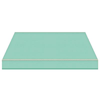 Tenda da sole a bracci estensibili manuale TEMPOTEST PARA' L 2.4 x H 2 m Cod. 71/15 verde