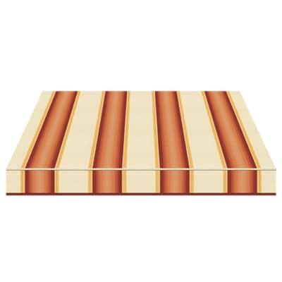 Tenda da sole a bracci estensibili manuale TEMPOTEST PARA' L 240 x H 210 cm avorio, giallo, marrone, bordeaux Cod. 771/426