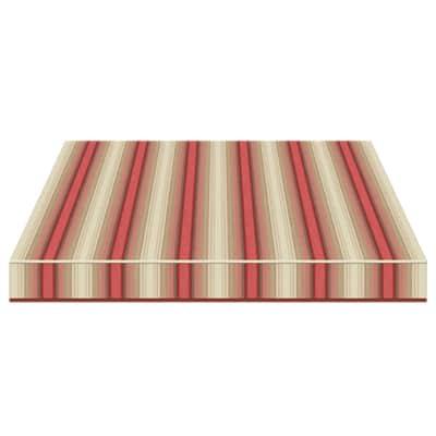 Tenda da sole a bracci estensibili manuale TEMPOTEST PARA' L 240 x H 210 cm beige, rosso, marrone Cod. 5010/11
