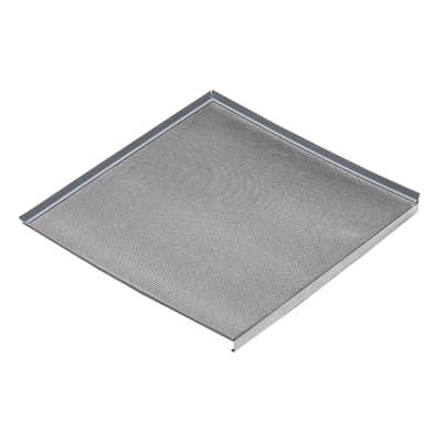 Protezione sottolavello alluminio L 86.4 x H 3 x P 52.6 cm