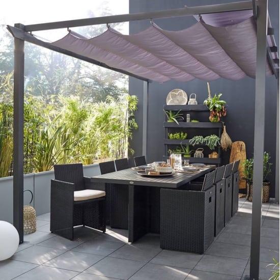 Arredo giardino terrazzo e giardinaggio offerte e prezzi for Teli laterali per gazebo leroy merlin