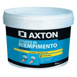 Stucco in pasta Axton Riempitivo liscio bianco 4 kg