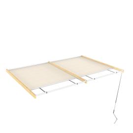 Tenda superiore scorrevole pergola Flamingo / Eagle 5.94x4.176m
