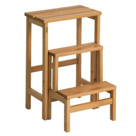 Scalette sgabelli e scale domestiche prezzi e offerte for Scala legno leroy merlin