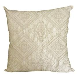Cuscino Vittina ecru 45 x 45 cm
