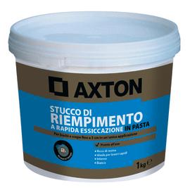 Stucco in pasta Axton Rapido liscio bianco 1 kg
