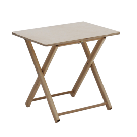 Tavolo bimbi pieghevole naturale
