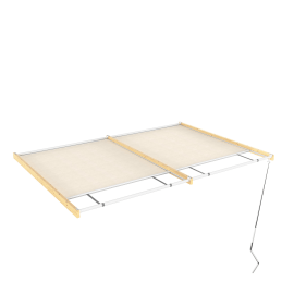 Tenda superiore scorrevole pergola Flamingo / Eagle 4.176 x 4.176 m