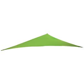 Vela ombreggiante triangolare verde
