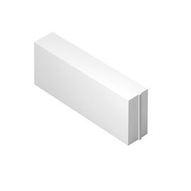 Blocco in calcestruzzo cellulare 62,5 x 25 x 20 cm