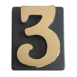 Lettere e numeri in metallo e adesive prezzi e offerte for Numeri adesivi leroy merlin