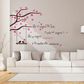 Adesivi murali e stickers murali da parete decorativi for Stickers pareti