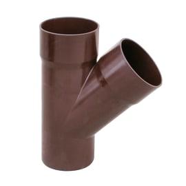 Braga pluviale in plastica Ø 80 mm, 45°