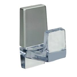 Appendiabiti da parete 1 posto trasparente