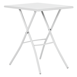 Tavolo pieghevole Gaia, 50 x 70 cm bianco