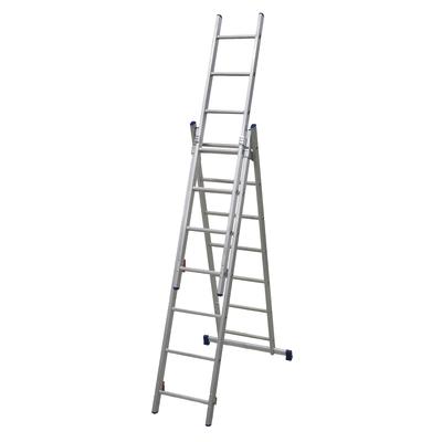 Scala sfilo alluminio facal 3x7 gradini per lavori fino a for Leroy merlin scala retrattile