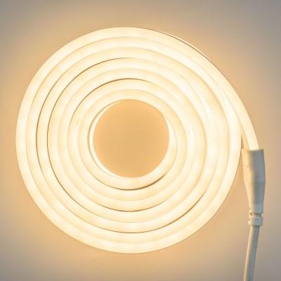 Tubo luminoso 960 minilucciole Led classica gialla 9,5 m