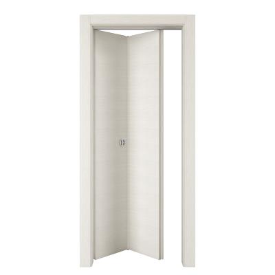 Porta da interno pieghevole Star Bianco Matrix 80 x H 210 cm sx