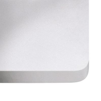 Piano cucina su misura quarzo White storm 3 cm