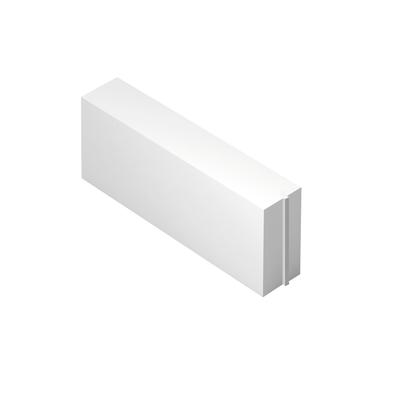Blocco in calcestruzzo cellulare 62,5 x 25 x 12 cm