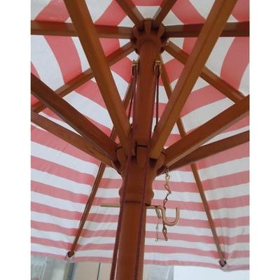 Ombrellone Ø 2,25 m a righe