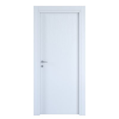 Porta da interno battente Renoir bianco venato 70 x H 210 cm reversibile