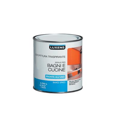 Idropittura traspirante bianca Luxens 0,75 L