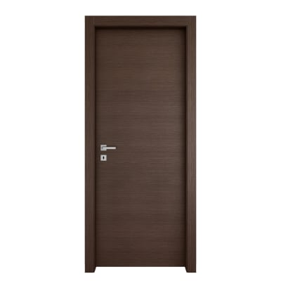 Porta da interno battente Timber Fumo 80 x H 210 cm reversibile