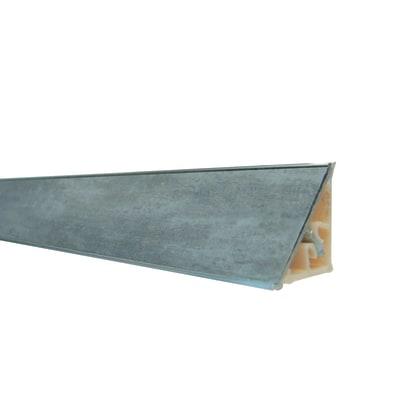Alzatina alluminio grigio L 300 x H 2,7 cm