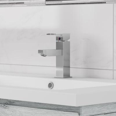 Mobile bagno Gola sharewood platino L 105 cm