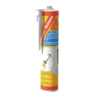Sigillante acrilico Sikacryl® Texture bianco Sika 300 ml, per cemento, muri