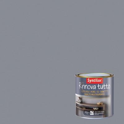 Smalto Rinnova tutto Syntilor Argento opaco 0,5 L