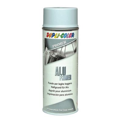 Fondo spray Dupli-Color Alu Primer per leghe leggere grigio opaco 400 ml