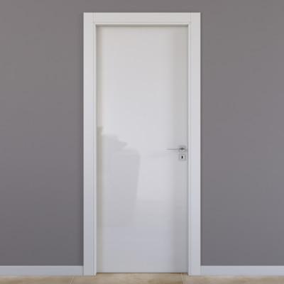 Porta da interno battente Massaua silk 80 x H 210 cm sx