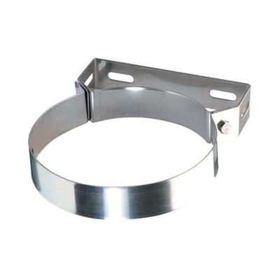 Collare a muro coibentato acciaio inox AISI 304