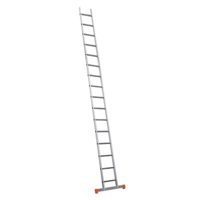 Scala ad appoggio alluminio Facal 16 gradini, per lavori fino a 6 m